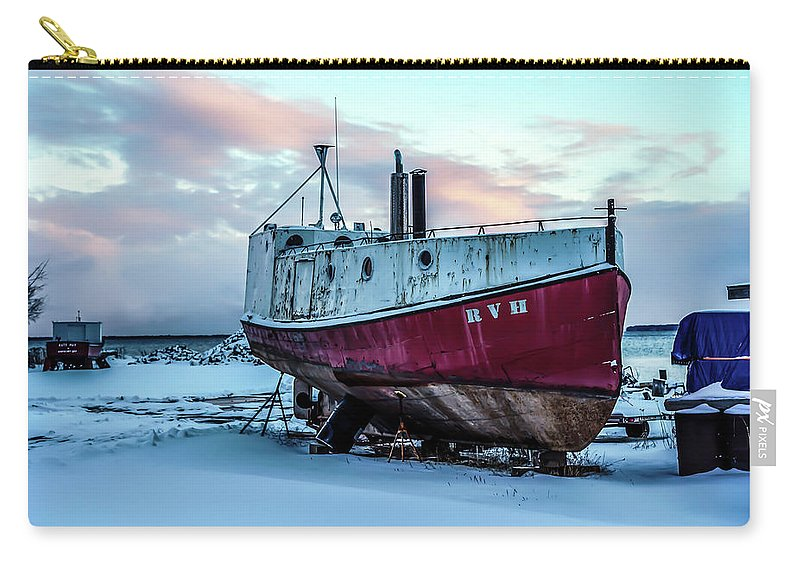 Rvh Carry-all Pouch featuring the photograph 017 - Dry Dock by David Ralph Johnson