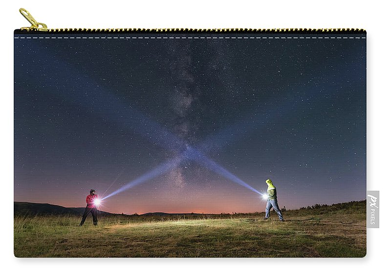 People Carry-all Pouch featuring the photograph Duel Of Light by Carlos Fernandez