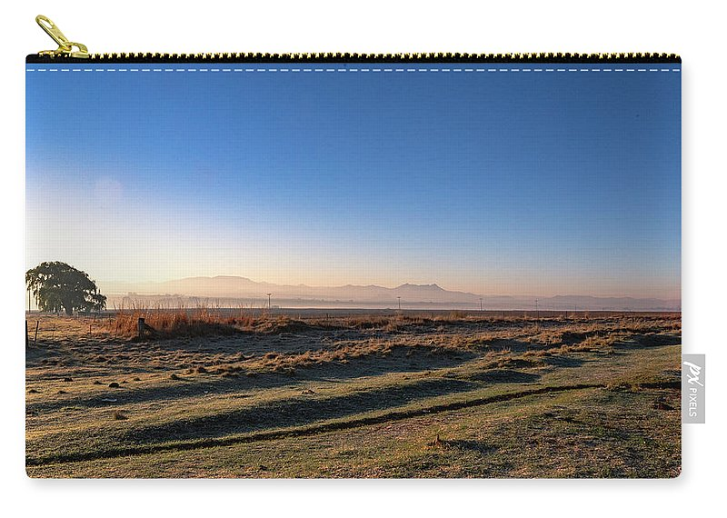 South Africa Carry-all Pouch featuring the photograph Early Morning Sunrise In Clarens by Pieter Bruwer