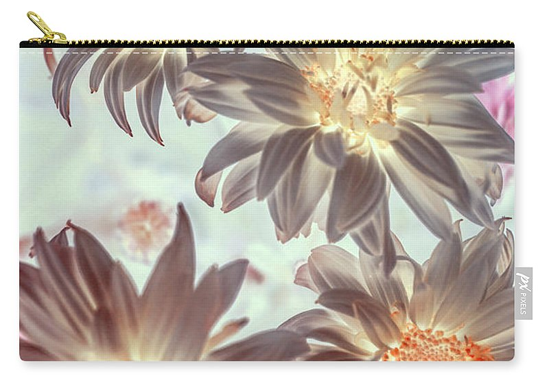 Flowers Carry-all Pouch featuring the photograph Electric Beauty by Jorgo Photography - Wall Art Gallery
