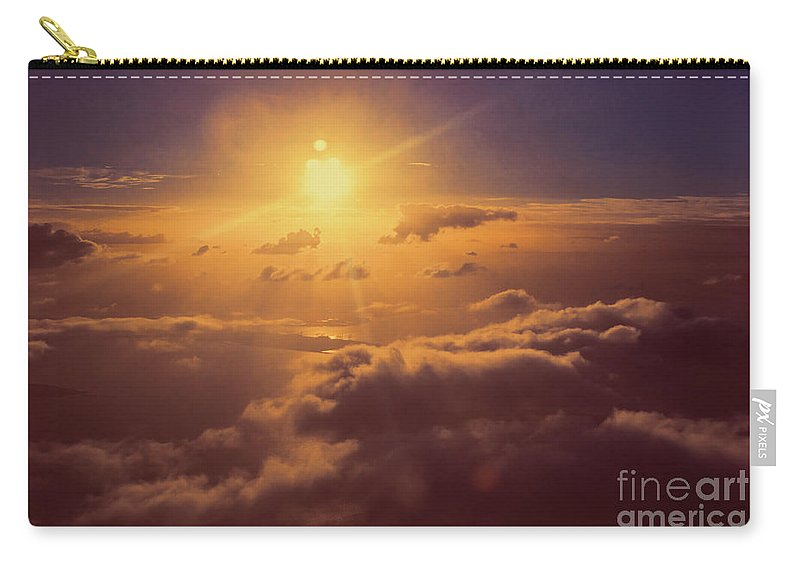 Sky Carry-all Pouch featuring the photograph Elevation by Jorgo Photography - Wall Art Gallery