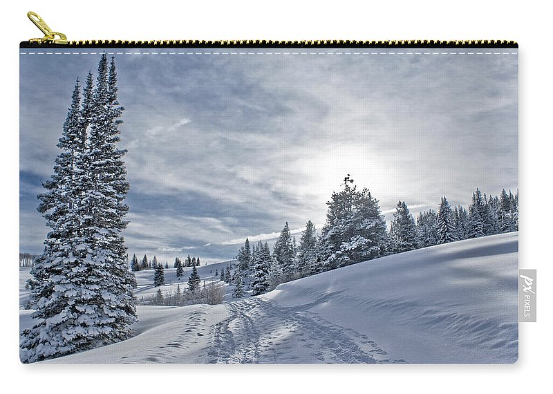 Shadow Carry-all Pouch featuring the photograph Escape From Beaver Creek by Rauch Jonathan Photographies