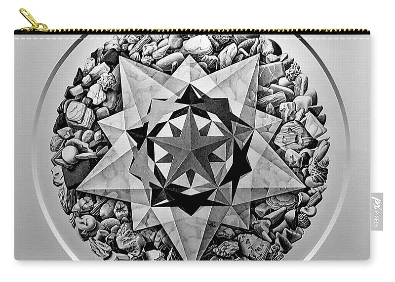 Maurits Cornelis Escher Carry-all Pouch featuring the photograph Escher 112 by Rob Hans