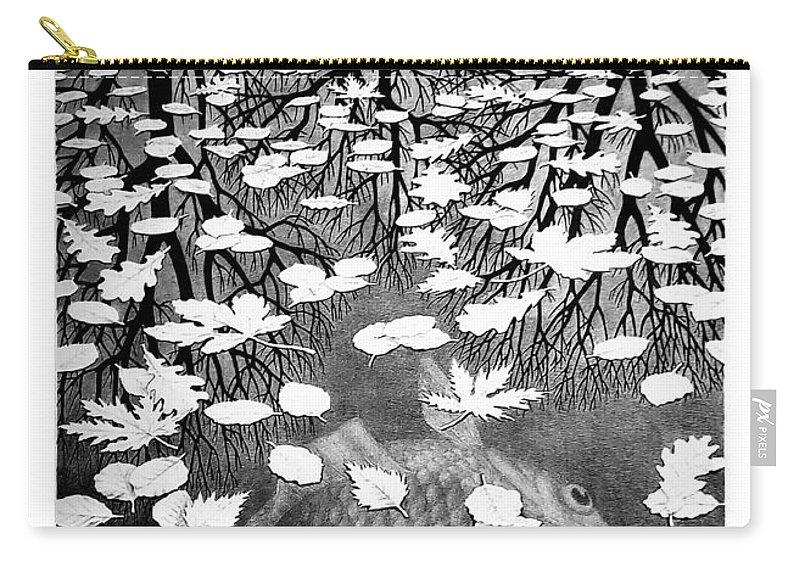 Maurits Cornelis Escher Carry-all Pouch featuring the photograph Escher 98 by Rob Hans