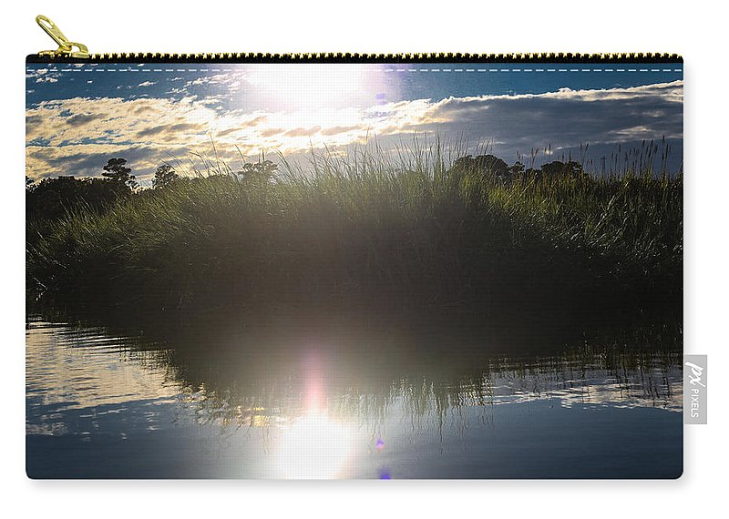 Sunset Carry-all Pouch featuring the photograph Eternal Sunshine by Victoria Williams