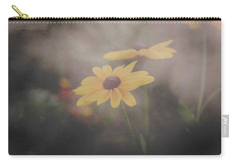 Flower Carry-all Pouch featuring the photograph Evolved by Eliza Spatar