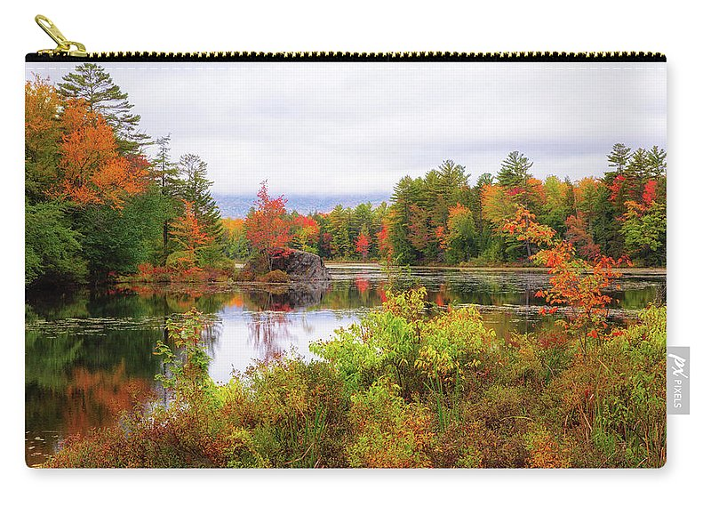 Autumn Carry-all Pouch featuring the photograph Fall In Nh by Robert Clifford