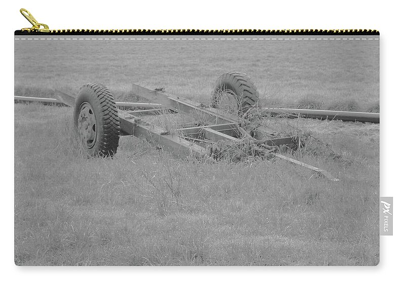 Carry-all Pouch featuring the photograph Farm Equipment by James Harris