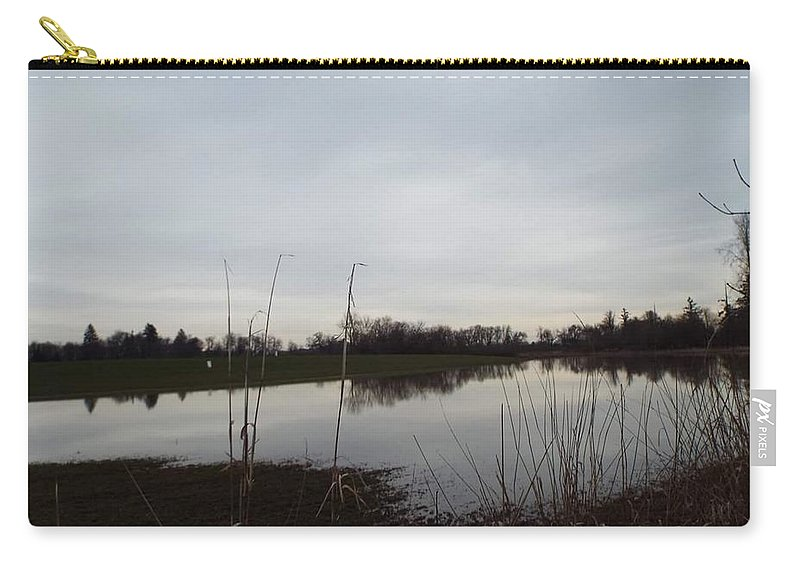 Carry-all Pouch featuring the photograph Farm Pond by James Harris