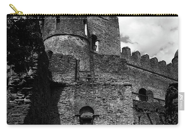 Africa Carry-all Pouch featuring the photograph Fasilides Castle, Gondar, Ethiopia, Africa by Aidan Moran