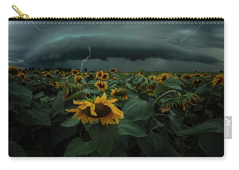 South Dakota Carry-all Pouch featuring the photograph Fear Inoculum by Aaron J Groen