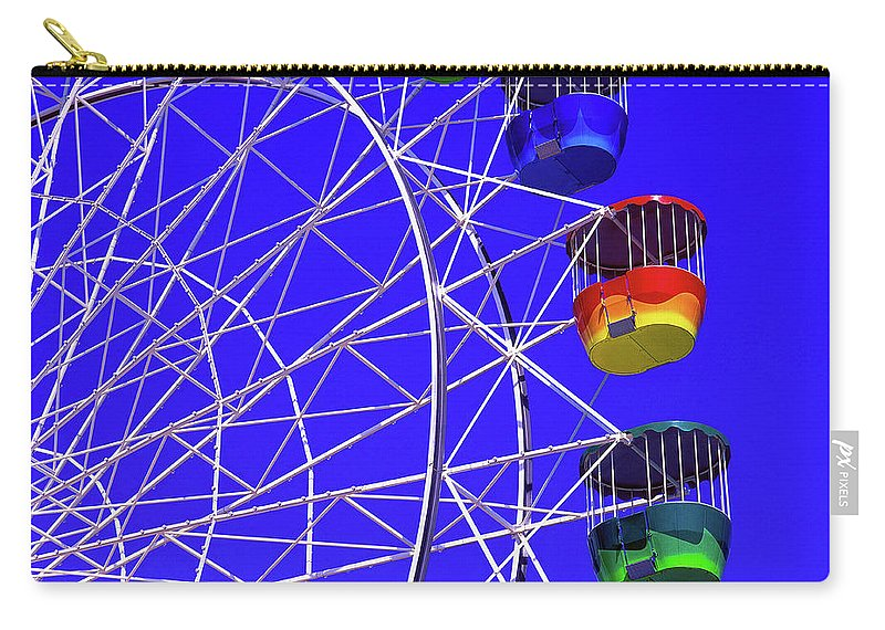 Outdoors Carry-all Pouch featuring the photograph Ferris Wheel, Sydney, Australia by Hans-peter Merten