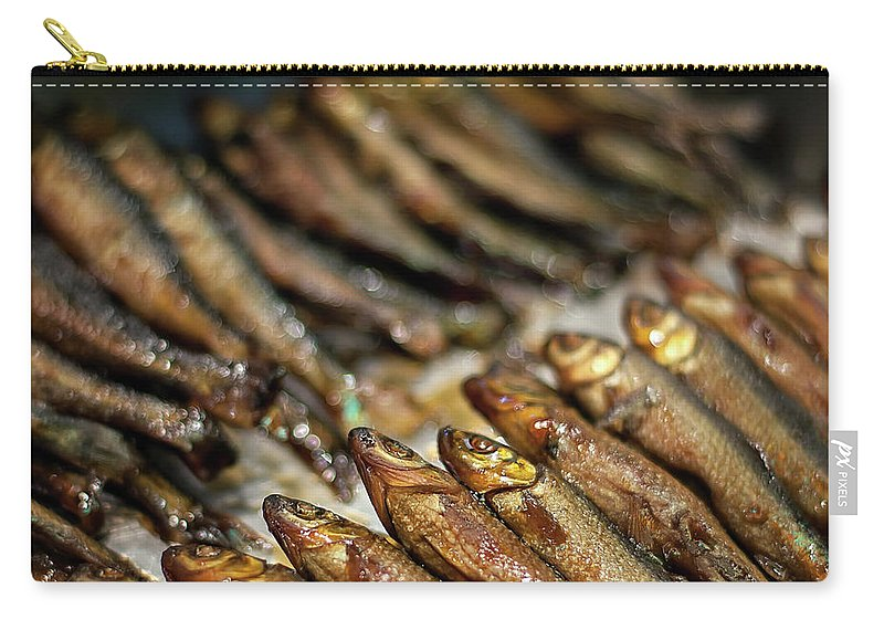 Retail Carry-all Pouch featuring the photograph Fish by David Panevin Photography