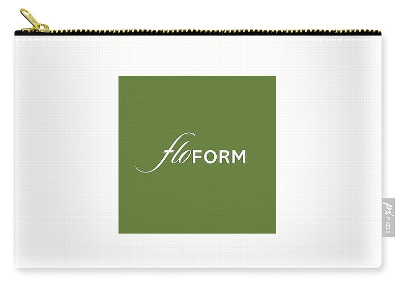 Floform Carry-all Pouch featuring the relief Floform by Floform