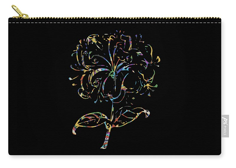 Flower Carry-all Pouch featuring the photograph Flower Within by Garrett Butler