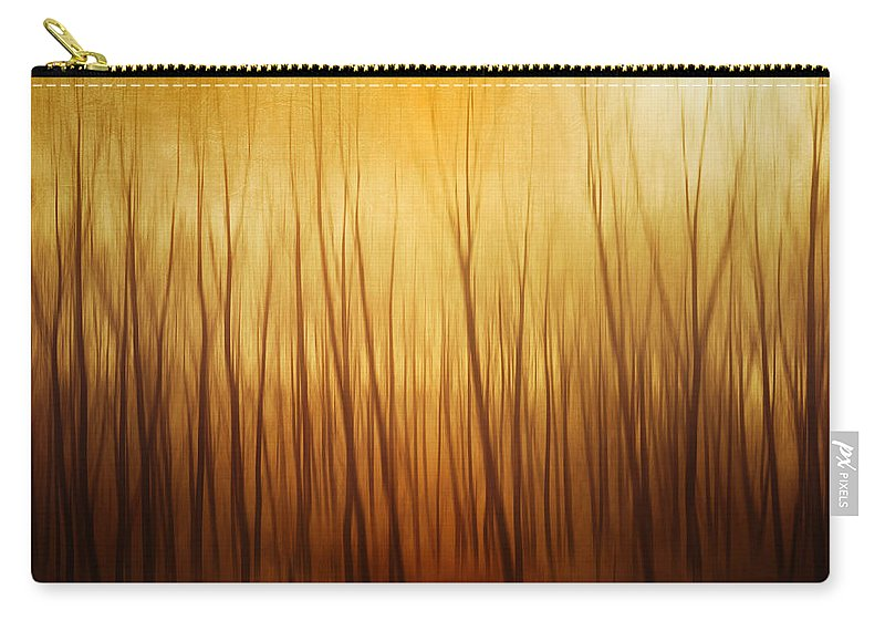 Dawn Carry-all Pouch featuring the photograph Forest by Philippe Sainte-laudy Photography