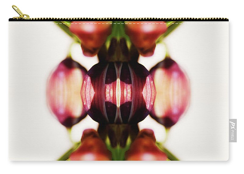Bud Carry-all Pouch featuring the photograph Fritillaria Flower by Silvia Otte