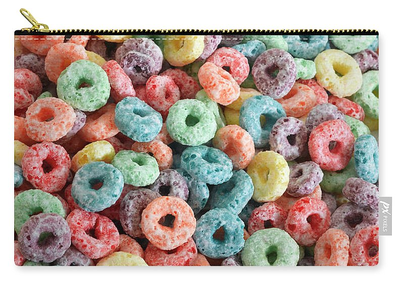 Breakfast Carry-all Pouch featuring the photograph Fruit Cereal by Adshooter