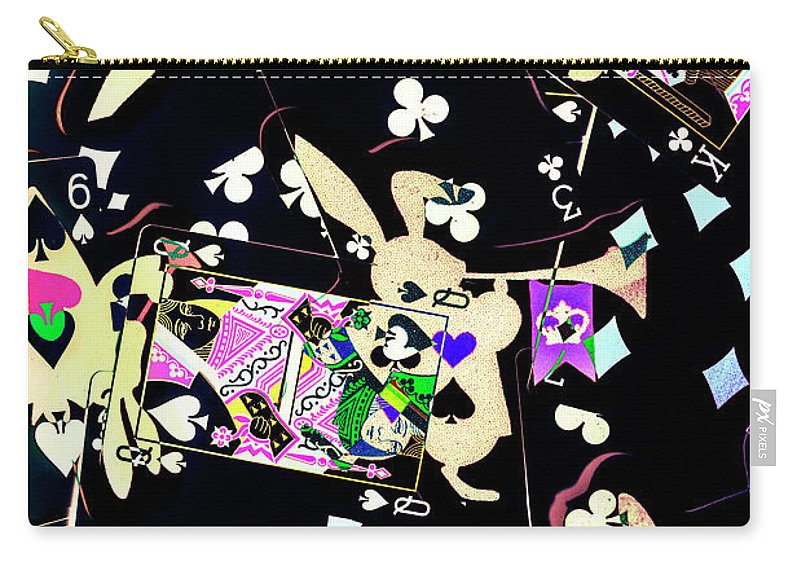 Game Carry-all Pouch featuring the photograph Game Of Illusion by Jorgo Photography - Wall Art Gallery