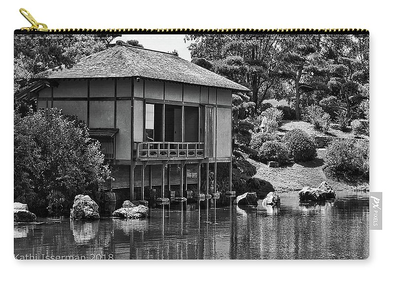 Chicago Carry-all Pouch featuring the photograph Garden Views II by Kathi Isserman