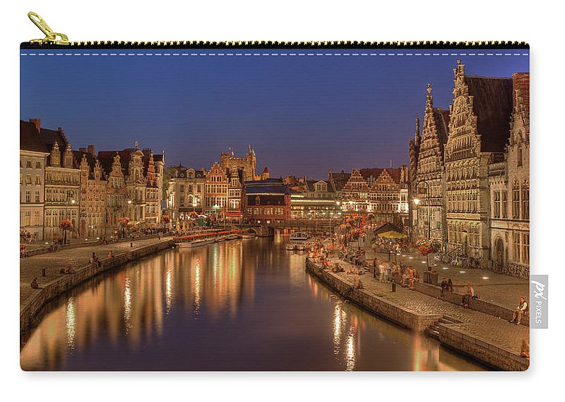 Tranquility Carry-all Pouch featuring the photograph Gent - 03101119 by Klaus Kehrls