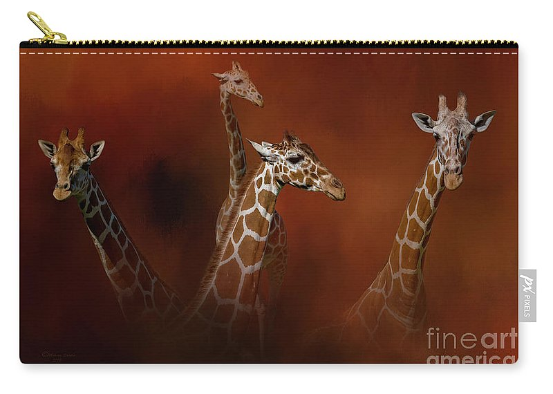Nature Carry-all Pouch featuring the photograph Gentle Giants by Marvin Spates