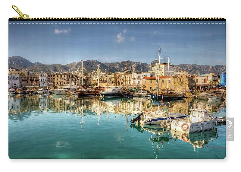 Tranquility Carry-all Pouch featuring the photograph Girne Kyrenia , North Cyprus by Nejdetduzen