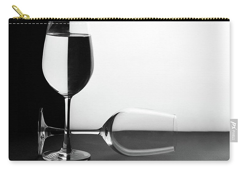 Alcohol Carry-all Pouch featuring the photograph Glasses by Photo By Bhaskar Dutta