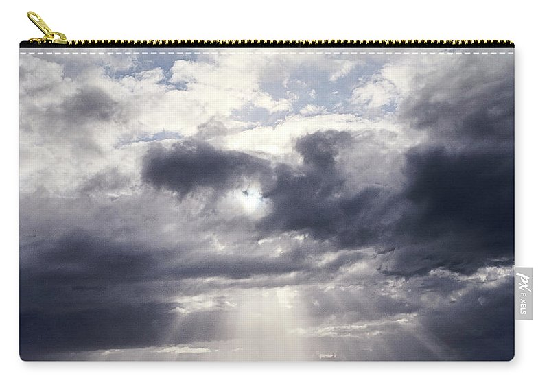 Scenics Carry-all Pouch featuring the photograph Gods Above Us by Ioseph