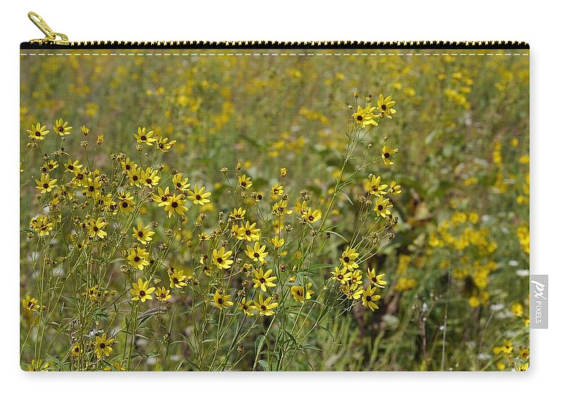 Tiwago Carry-all Pouch featuring the photograph Gold Medallions by Photography by Tiwago