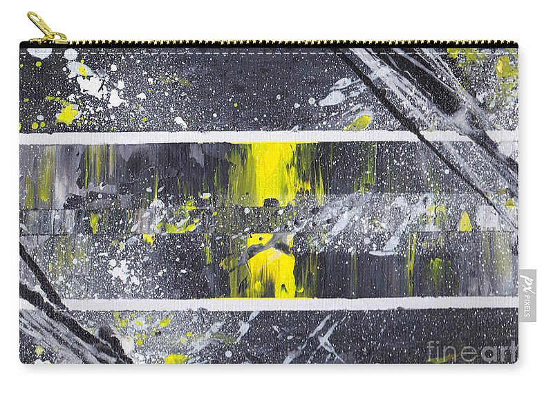 Abstract Carry-all Pouch featuring the painting Graffiti 003 by Nicole Chambers
