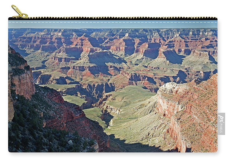 Scenics Carry-all Pouch featuring the photograph Grand Canyon Beauty by Mitch Diamond