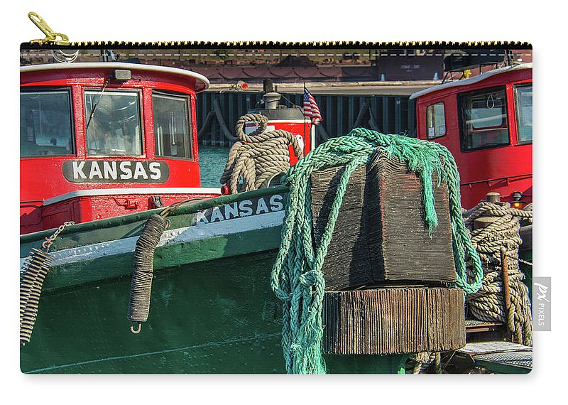 2018 Carry-all Pouch featuring the photograph Great Lakes Towing Tug Kansas by Christine Douglas