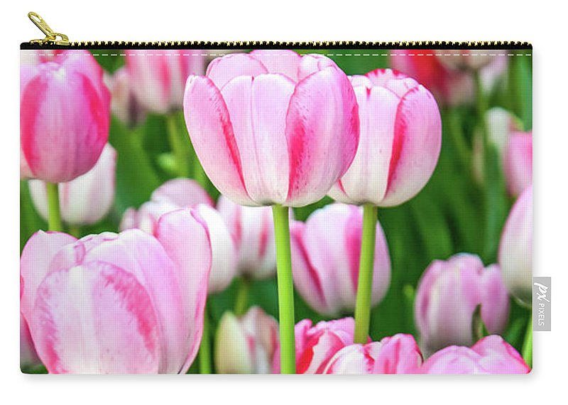 Flowers Carry-all Pouch featuring the photograph Happy Again by Az Jackson