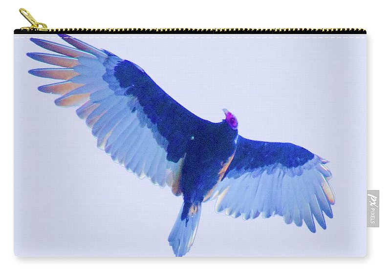 Birds Carry-all Pouch featuring the photograph Hauteur by Kathy Beyer