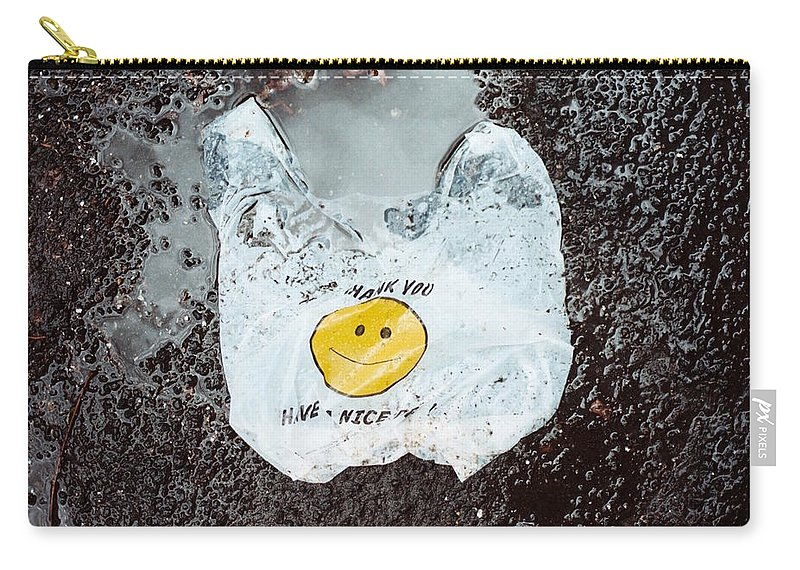 Landscape Carry-all Pouch featuring the photograph Have A Nice Day by Jamie Alicia Ary