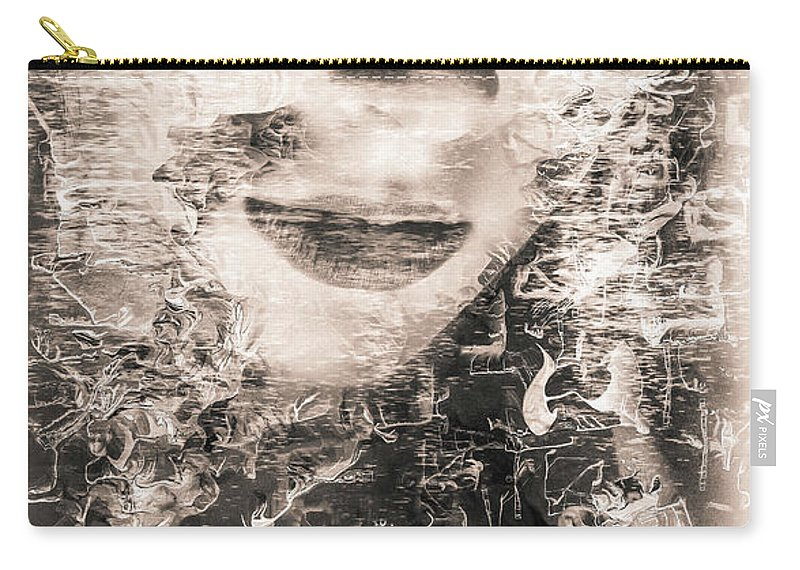 Models Carry-all Pouch featuring the digital art Hidden Beauty by Robert Brown