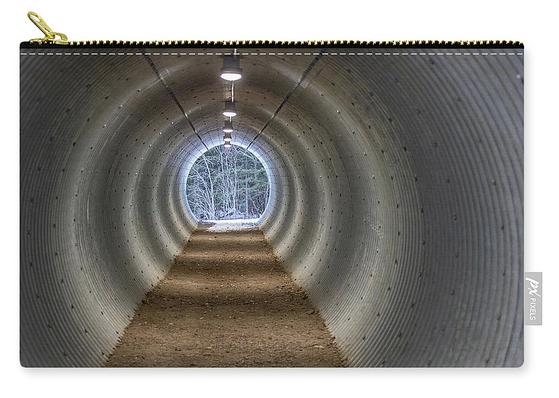 Bitter Carry-all Pouch featuring the photograph Highway Underpass In Pigeon River Provincial Park by Jakub Sisak