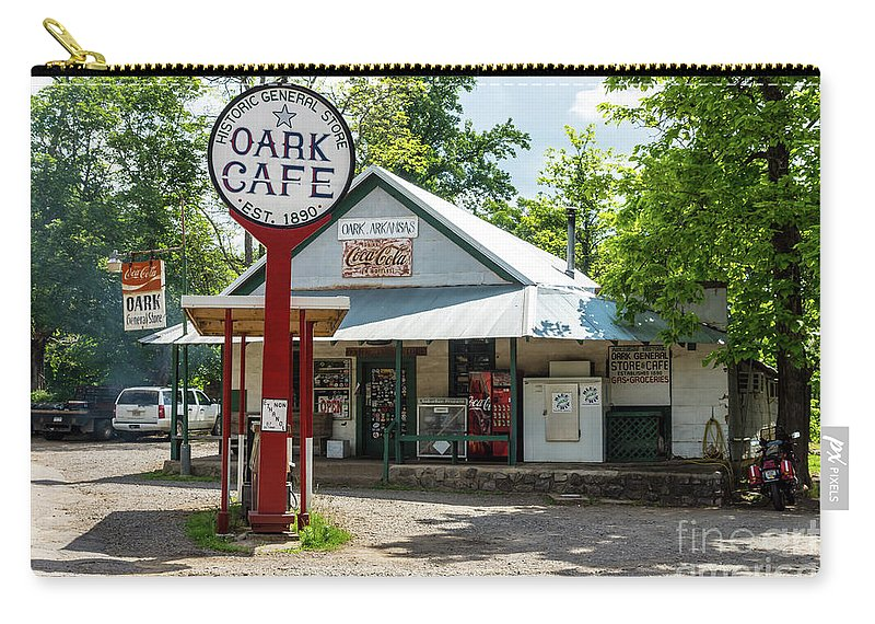 America Carry-all Pouch featuring the photograph Historic Oark General Store by Jennifer White