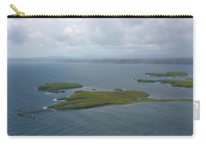 Tranquility Carry-all Pouch featuring the photograph Holm, Stornoway, Isle Of Lewis by Donald Morrison