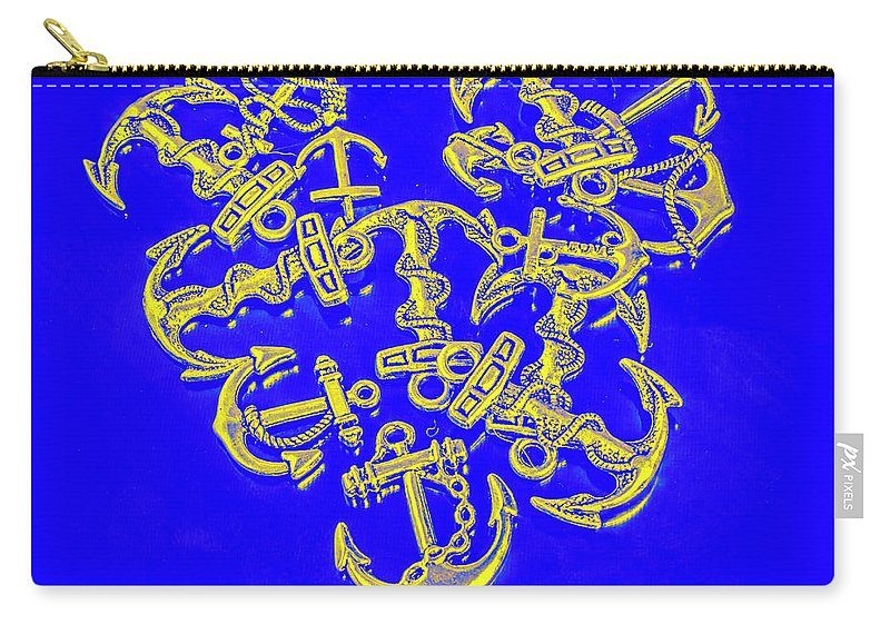 Anchor Carry-all Pouch featuring the photograph Hook Line And Sinker by Jorgo Photography - Wall Art Gallery