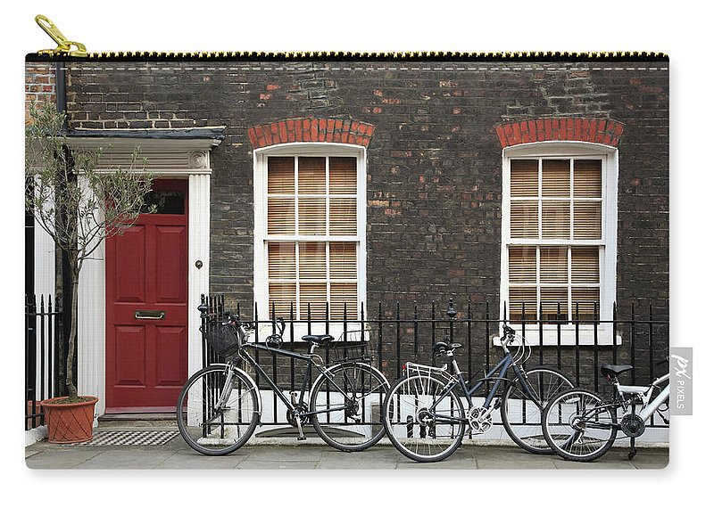 Row House Carry-all Pouch featuring the photograph House In London by Imagestock