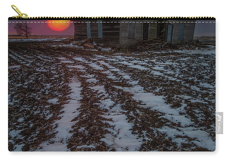 Sun Carry-all Pouch featuring the photograph House Of The Rising Sun by Aaron J Groen