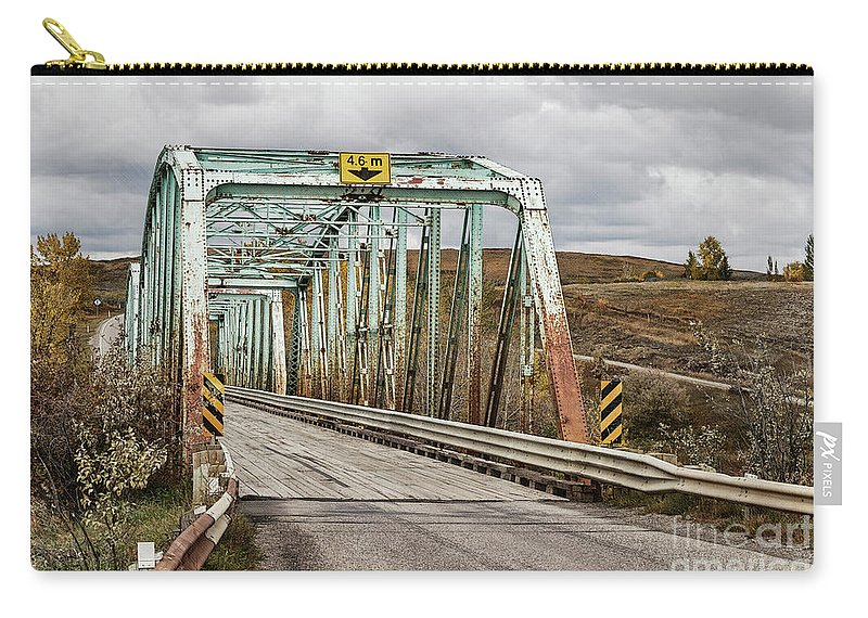 Allenfoto Carry-all Pouch featuring the photograph Hwy 552 Bridge by Brad Allen Fine Art