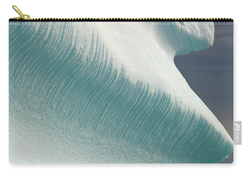 Iceberg Carry-all Pouch featuring the photograph Iceberg, Grandidier Passage, Antarctic by Eastcott Momatiuk