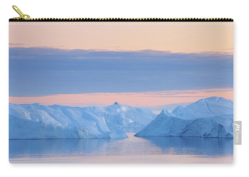 Iceberg Carry-all Pouch featuring the photograph Iceberg by Raimund Linke