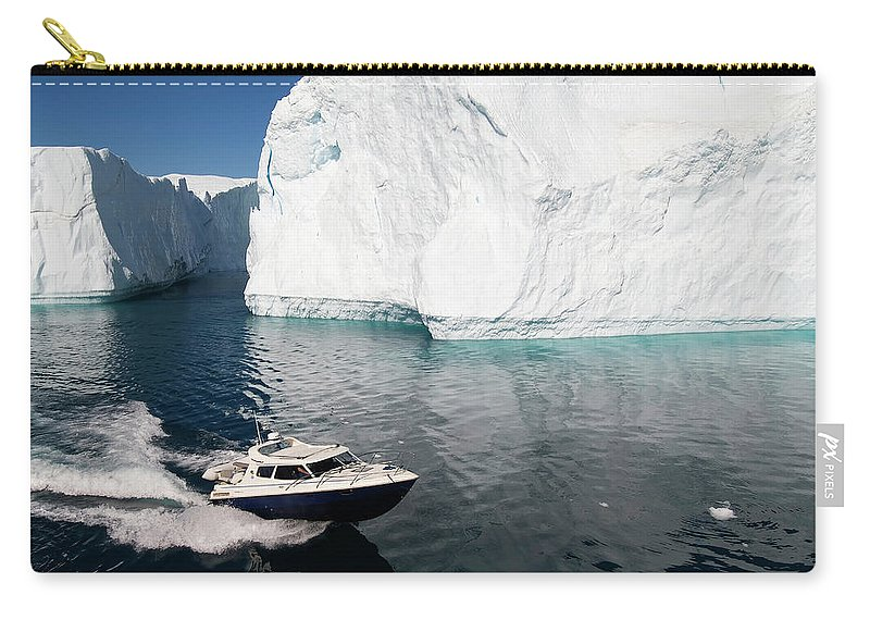 Scenics Carry-all Pouch featuring the photograph Ilulissat, Disko Bay by Gabrielle Therin-weise
