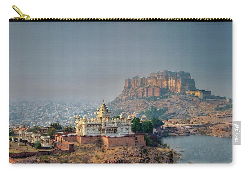 Hinduism Carry-all Pouch featuring the photograph India, Jodhpure, Mehrangarh Historic by Michele Falzone