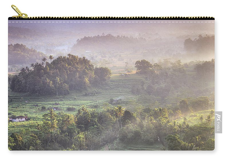 Tranquility Carry-all Pouch featuring the photograph Indonesia, Bali, Forest Landscape by Michele Falzone