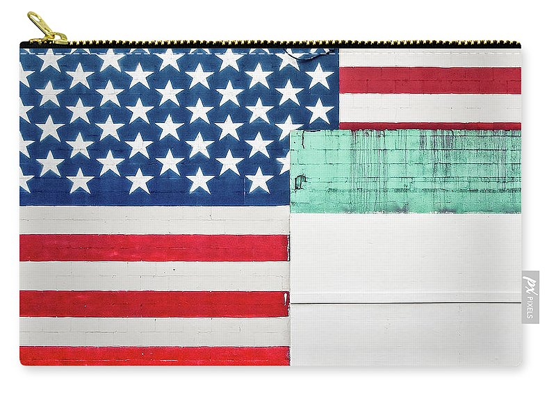 Americana Carry-all Pouch featuring the photograph Industrial Glory by Todd Klassy